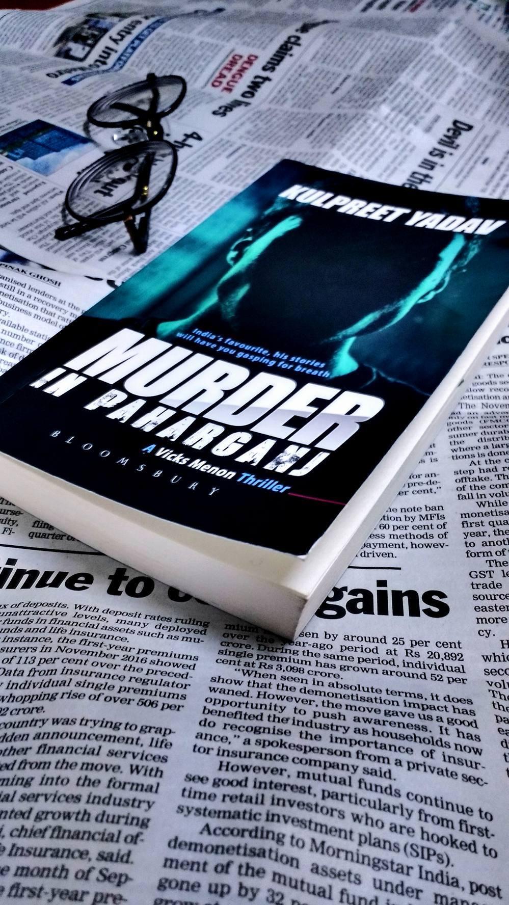 Murder in Paharganj by KulpreetYadav