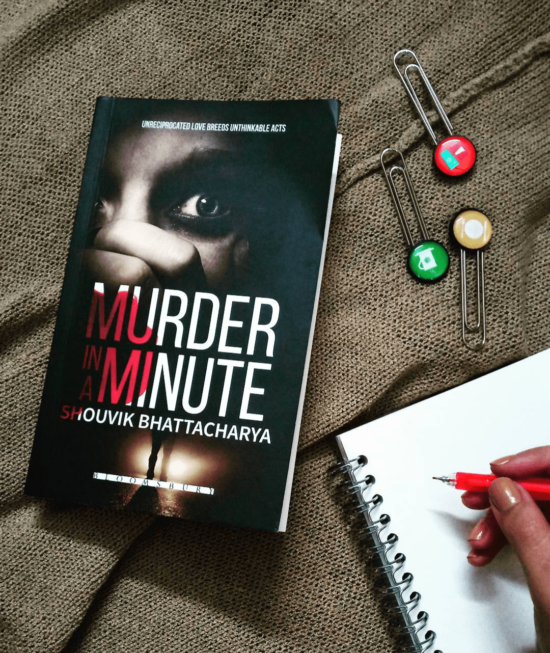 Murder In A Minute by Shouvik Bhattacharya
