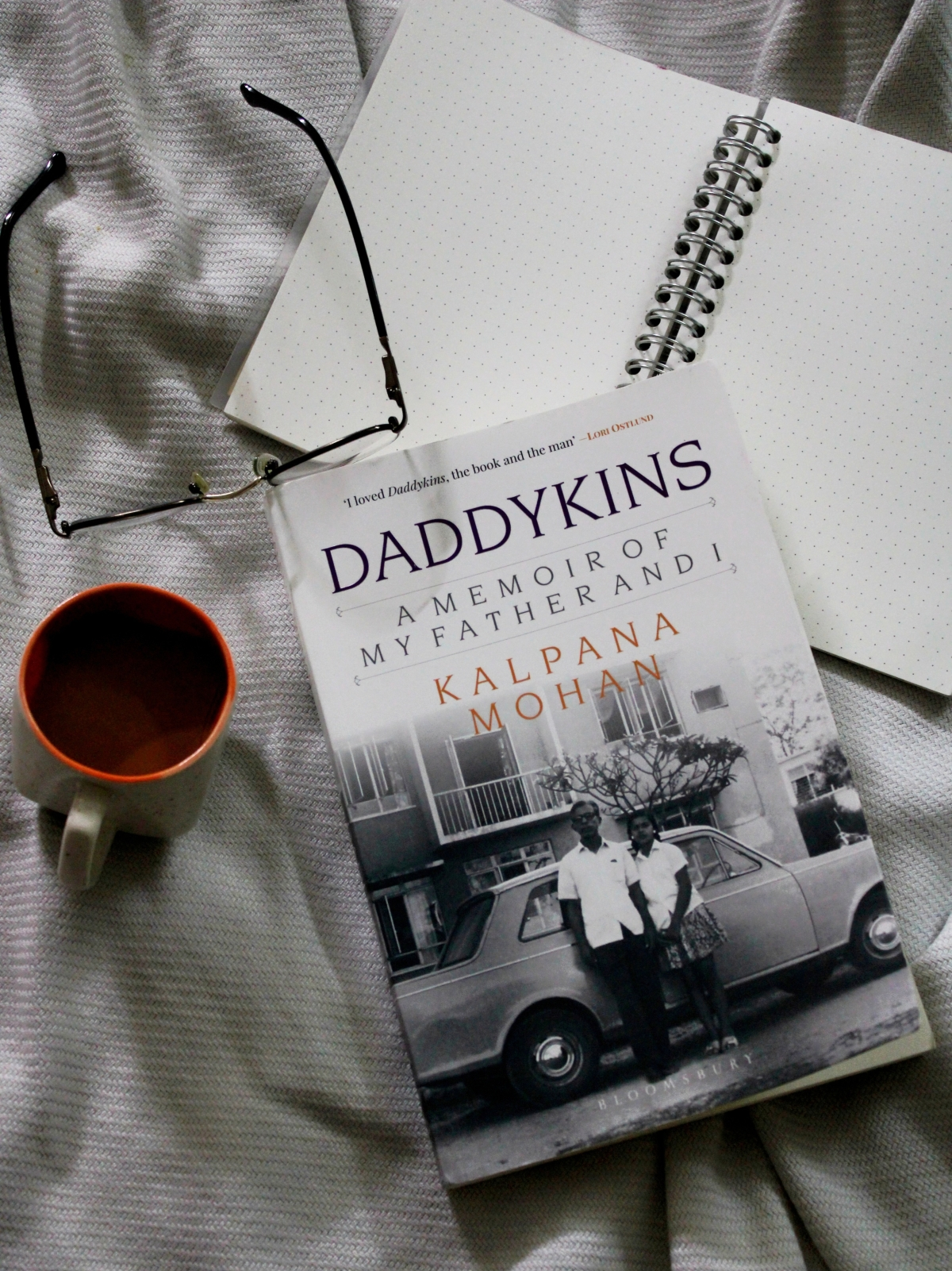 Daddykins by Kalpana Mohan: A bitter-sweet memoir that will make you laugh and cry.