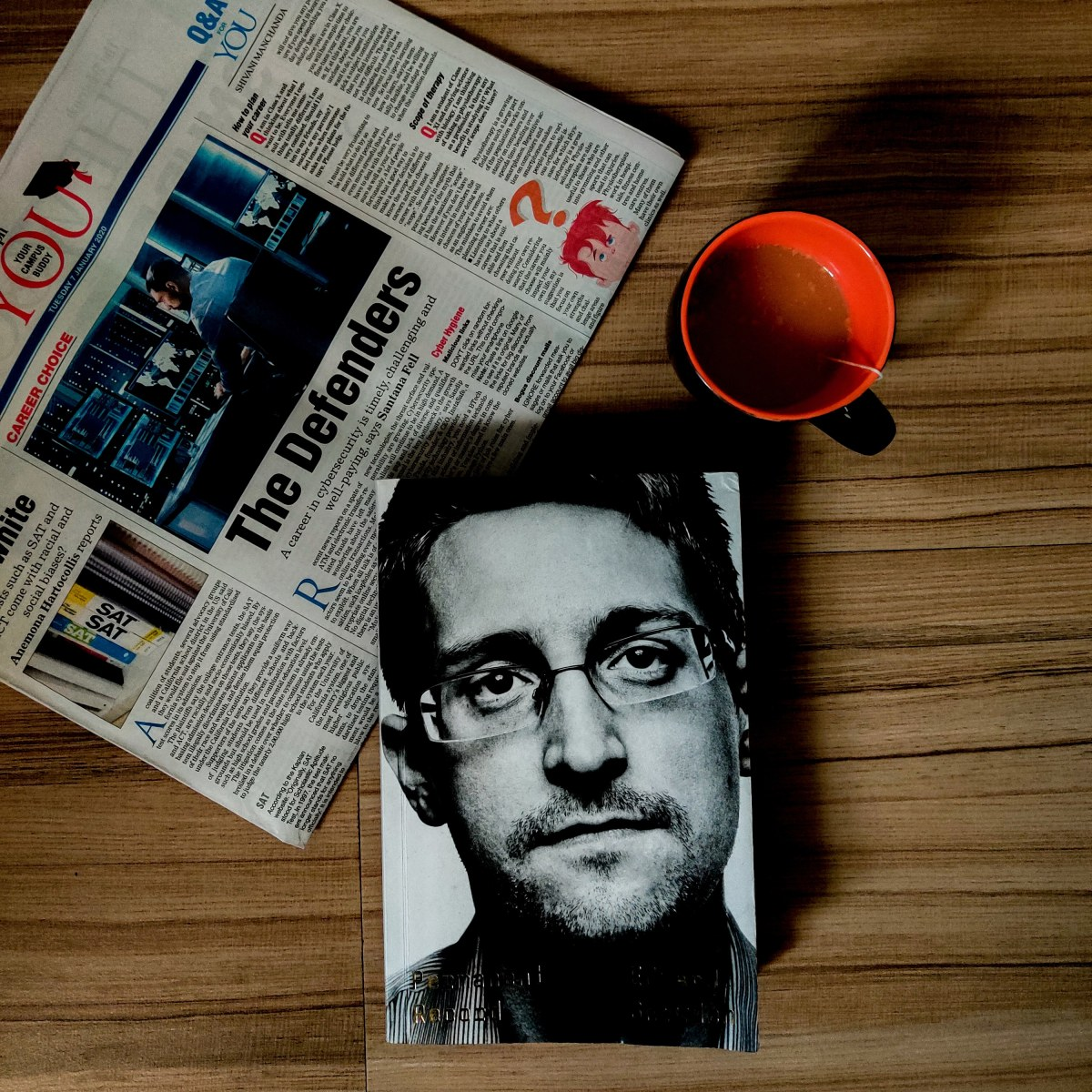 Permanent Record by Edward Snowden: The whistleblower who risked his life to reveal USA's greatest secret.