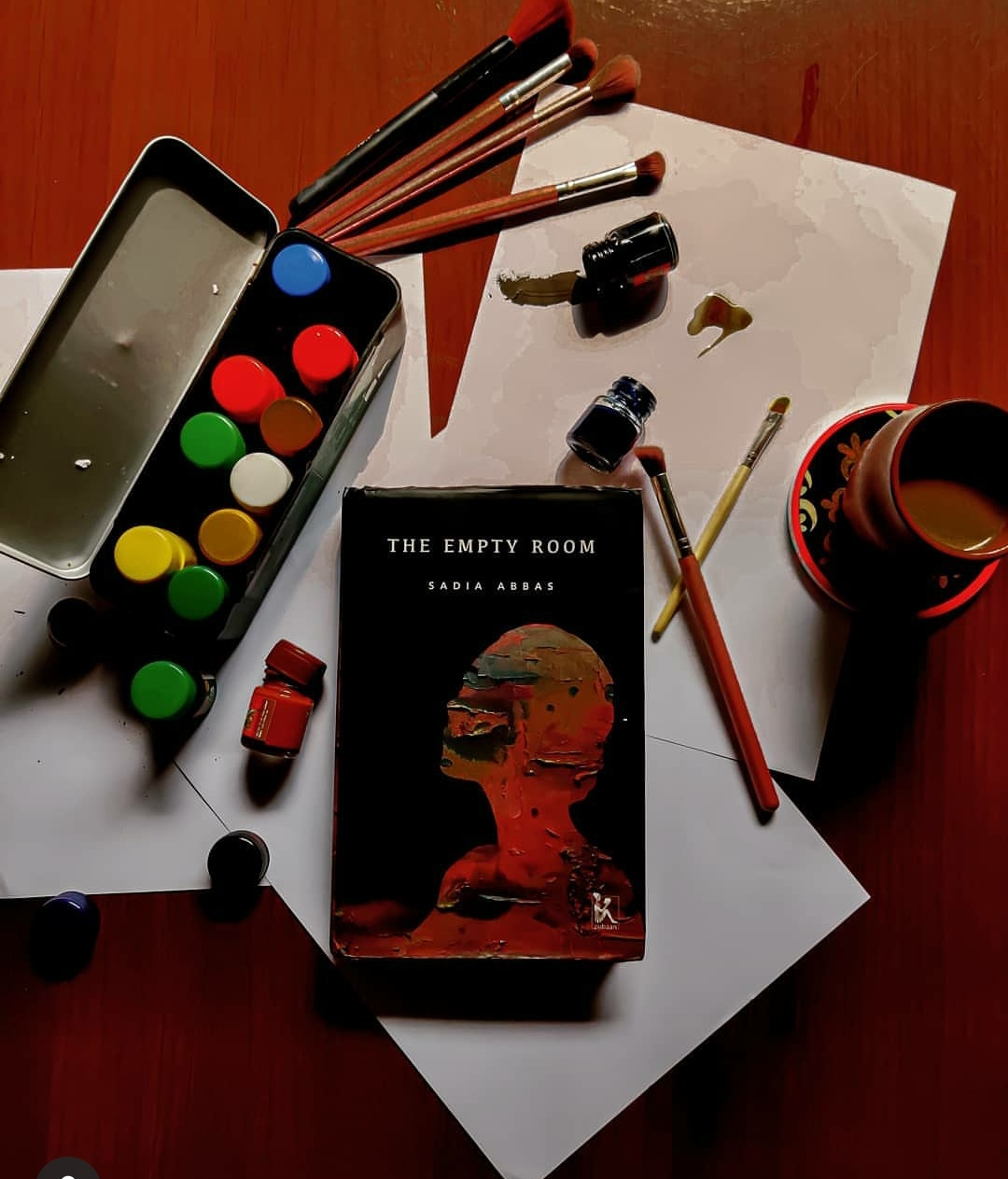 The Empty Room by Sadia Abbas: A story of love, art & loss in the midst of political turmoil.